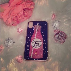 Unicorn Tears 🦄 Quicksand iPhone XS Case